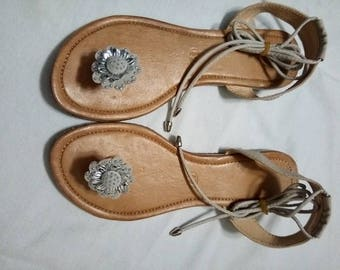 Cayasso Mexican Flower Sandals