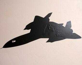 SR-71 Airplane - Wall Decal