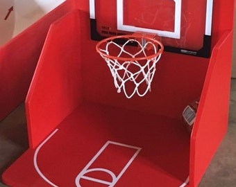 Basketball Hoop Shoot Carnival Game for Birthday, Church, VBS or School Party