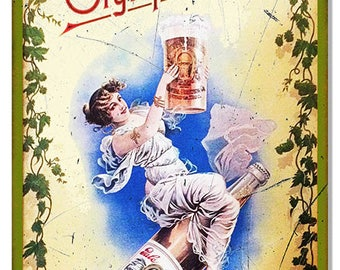 """Olympia Beer Vintage Looking Nostalgic Restaurant And Bar Metal Sign 12""""x18"""" .040 Aluminum RG7367"""
