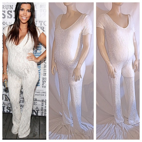 Good Maternity Lace Jumpsuit/ Maternity Wear/ Babyshower/ Photo