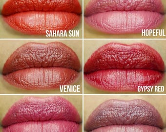 All natural vegan creme lipstick