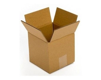50 4x4x4 Boxes, Cardboard, Shipping & Mailing, Corrugated, Fast Shipping!