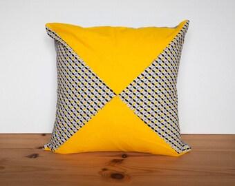 Housse de coussin jaune | Etsy
