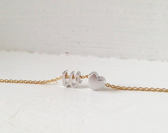 Initial Bracelet, Dainty Lowercase Bracelet, Personalized Gift, Bridesmaid Gift, Delicate Gift - DCIBR