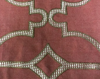 Cowtan and Tout Embroidered Fabric