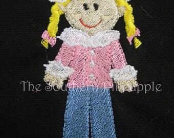 PILLOWCASE Winter Girl Personalized FREE