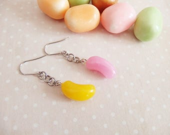 Candy Jelly Belly jelly beans, beans, sugar, greed, jewel candy candy earrings