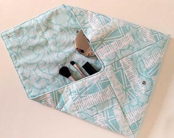 SALE* Cosmetics & Media Patchwork Clutch Bags