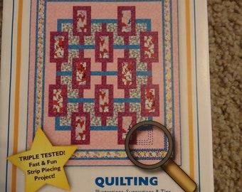 quilt pattern, modern quilt pattern, queen size quilt pattern