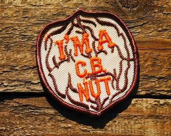 Vintage 70s I'm a CB Radio Nut Sew On Patch