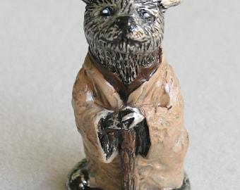 Yoda Cat Miniature