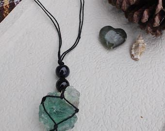 Green Flourite necklace