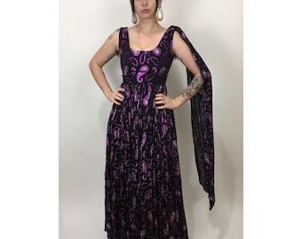 Vintage 1960's lurex Dress