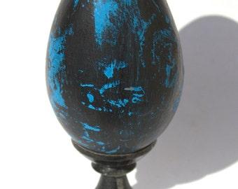 Decorative terracotta egg, Christmas gift