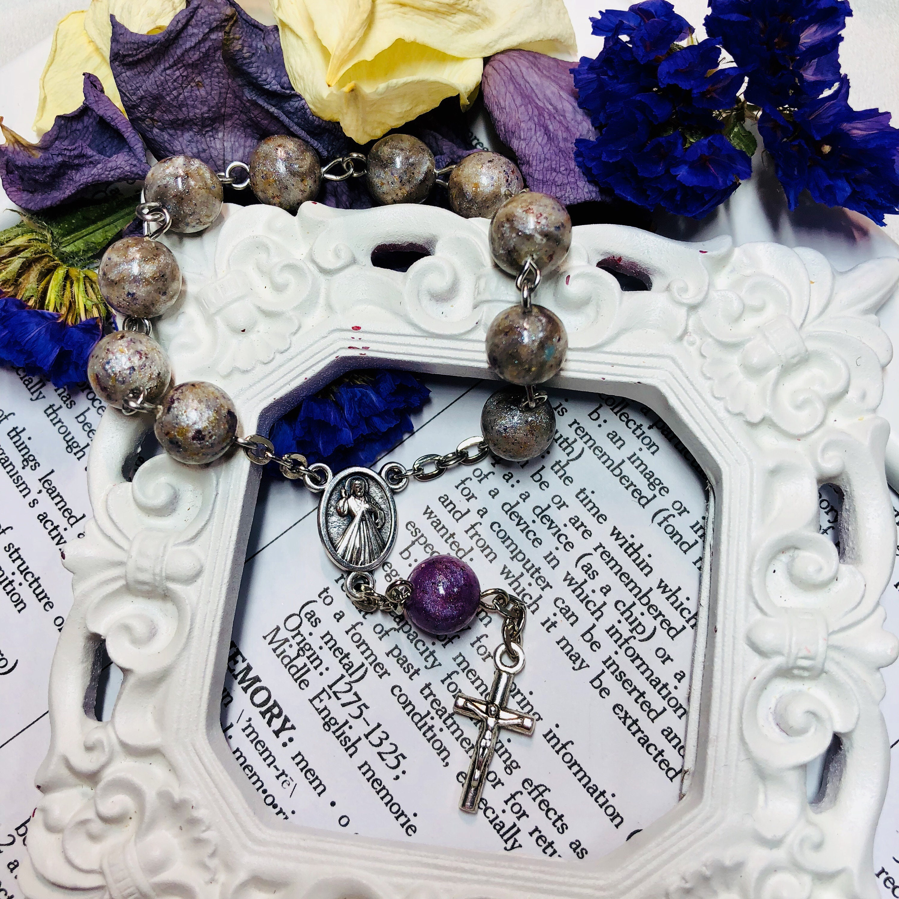 Rosary beads made from funeral flowers image collections flower rosary beads made from funeral flowers image collections flower rosary made from funeral flowers gallery flower izmirmasajfo