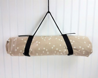 Picnic Blanket Waterproof, Organic Picnic Blanket, Large Beach Blanket, Large Picnic Blanket - Waterproof Blanket, Organic Blanket