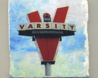 Varsity Restaurant in Atlanta -  Original Coaster