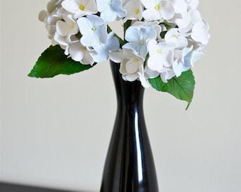 White Hydrangeas Bouquet,Center Flower Arrangement,Wedding Flower Ideas,Home Decor