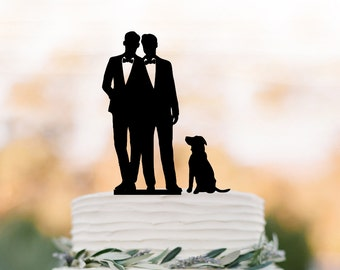 More Colors. Gay Wedding Cake Topper ...