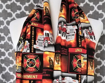 Fire Fighter Infinity Scarf
