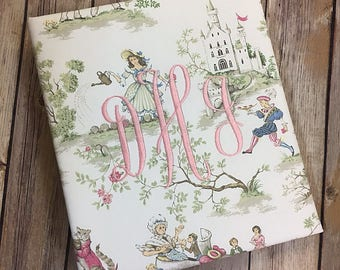 Baby Memory Book in the Baby Garden Collection