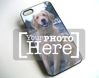 iPhone case - iPhone 5 case Personalized - Accessory for iPhone 5 cell phone case - iPhone photo hard BLACK case