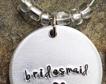 Single Wine Charm Add On - Bridesmaid