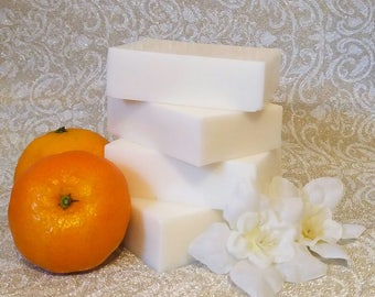Orange and Shea Butter Soap