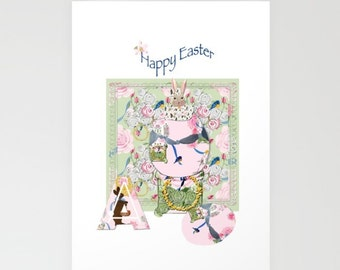 Blank Note Cards, Happy Easter