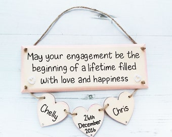 Unique engagement etsy engagement gift personalized engagement gifts unique engagement gifts engagement gift for couple negle Choice Image