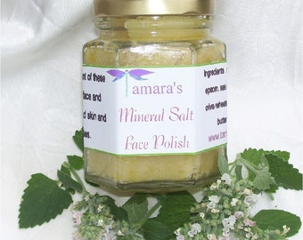 Mineral Salt Face Polish