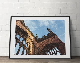 Coventry, England, Old , City, Ancient, Architecture, Digital Photography