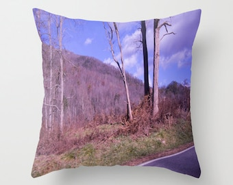 Indoor / Outdoor Decorative Throw Pillow 16X16 IN. Surreal Nature