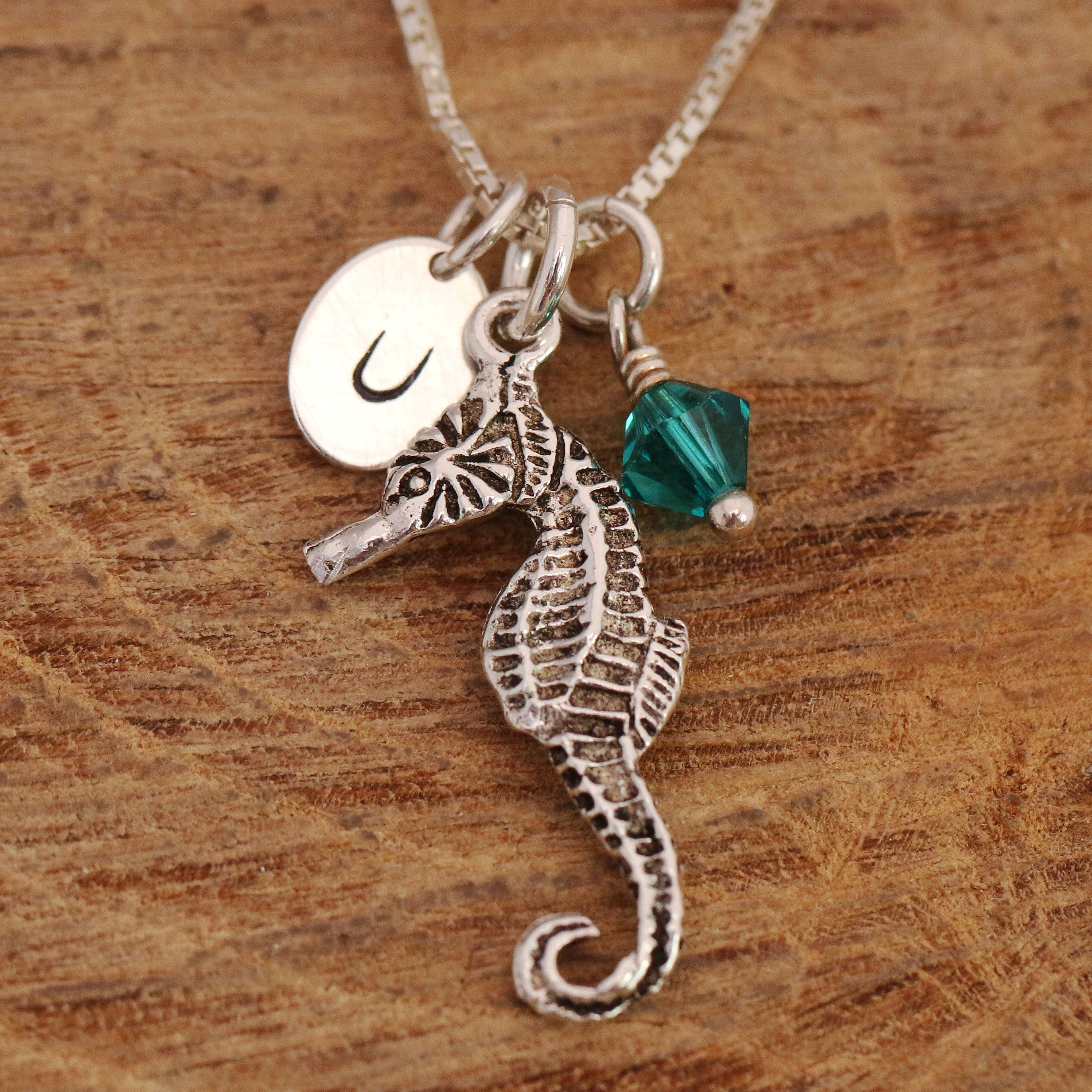 seahorse pendant pin by green with silver the apothecary jewelry etsy seaglass mermaid soft via necklace