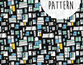 Instant Download, Printable Patterns, Paper Craft, Abstract Printable, Modern Pattern, Pattern Paper, Surface Pattern Design, Hipster Print.