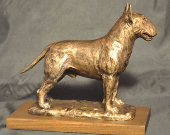 BULLTERRIER- unique dog sculpture SALE!