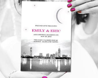 Boston Wedding Save the Dates