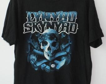 Vintage T shirt Band Clothing Punk Rock Southern Rock 90's Large Size