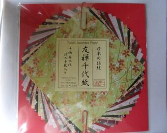 Origami paper - Yuzen Japanese Paper