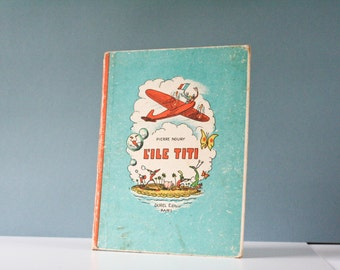 french vintage  children's story book - 1940