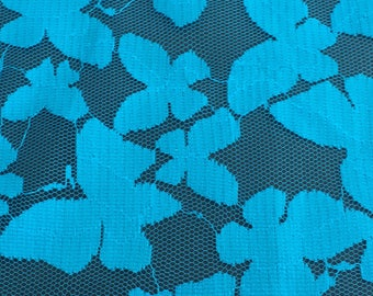Blue Butterfly Lace