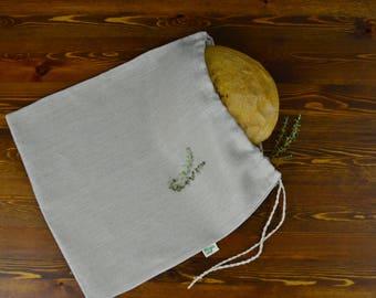 "Hemp bag for bread. Type ""C"""