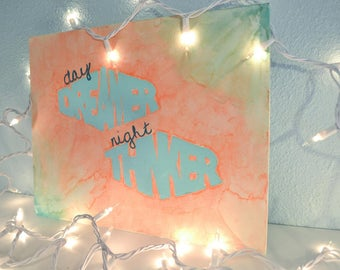 Day Dreamer, Night Thinker Painting