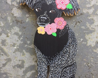 """Pet Portrait - Full Body - 3/4"""" thick - Completed by July 30"""