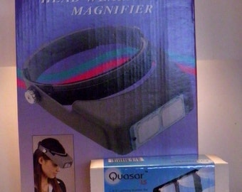 2.5X Magnifying Headband with attachable light