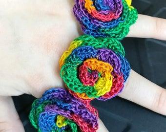 Pride Flower Rainbow Pride Rose Rainbow Rose Pride Ring Gay Pride