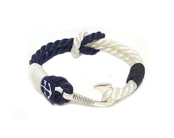 Hook Bracelet,Nautical Jewelry, Navy Bracelet , Anchor Jewellery, Nautical Bracelet, Beach Bracelet, Unisex Bracelet, For Her, For Him