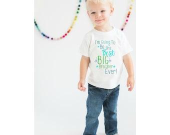 Big Brother Shirt, Boys shirt, Brother Shirt, Pregnancy Announcement Shirt, Sibling Shirt, Max and Mae Kids Clothing