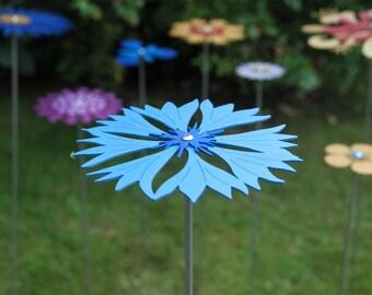 Pollination Flower Stem - Cornflower